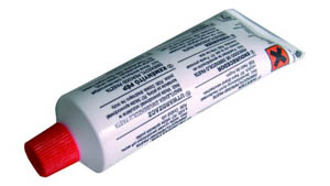 Catalizador de masilla Härter P. Catalizador PE, tubo endurecedor de peróxido de benzoilo.